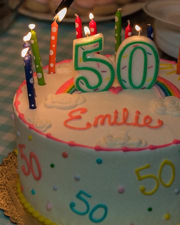 EMILIE'S 50TH