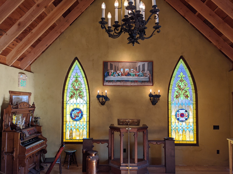 Inside the Chapel of Love