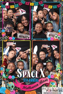 Space X 9th Annual Halloween Party Booth 3