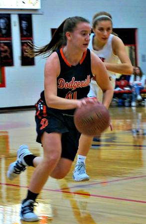 Dodgeville @ Sauk Prairie Girls Basketball 1-14-20