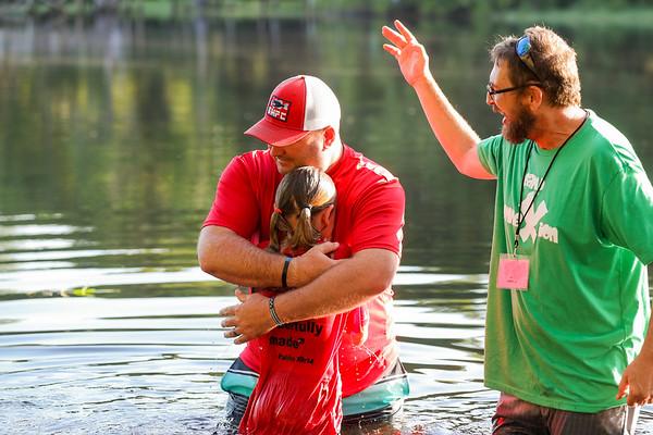 Camp Connexion Baptisms 2021