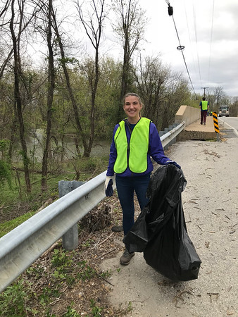 4.24.2018 Patapsco River Cleanup with Maryland Department of the Environment at North Hammonds Ferry Road