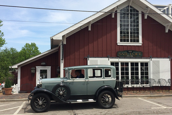 Saturday, May 19, 2017..A Mansfield Ohio Ford Club visits Vermilion.