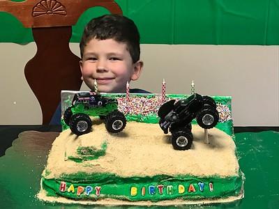 ANDREW'S 4TH BIRTHDAY