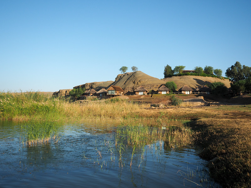 Orange River camp, Namibia