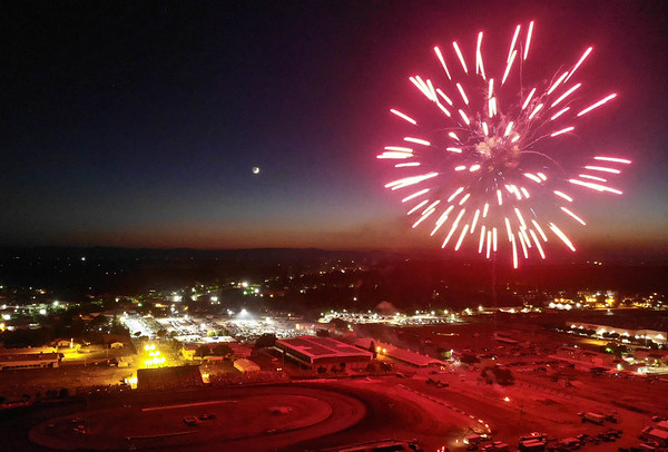 Photos | Fireworks fill the night sky in Butte County
