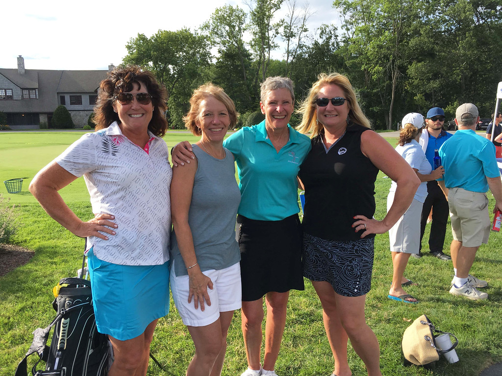 . From left, Jean Silk of Westford, Karen Moriarty of Lowell, and Mary Moriarty and Moira Bowser, both of Chelmsford