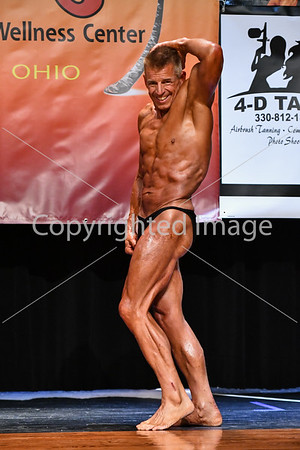 Men's Open Bodybuilding Prejudging