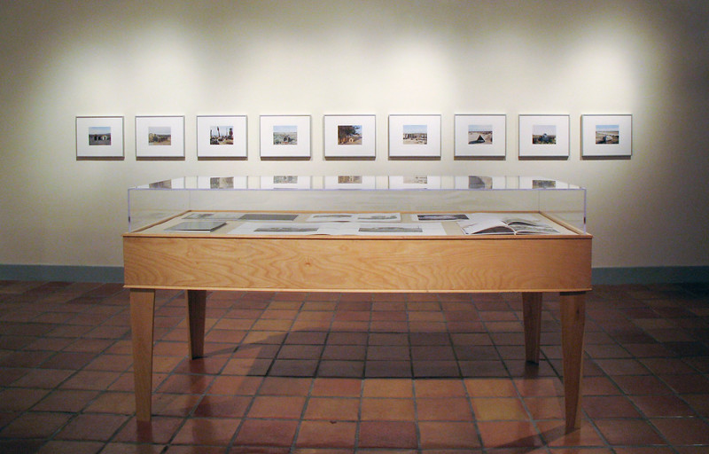 Mark Ruwedel, Shelter, January 2012, installation view