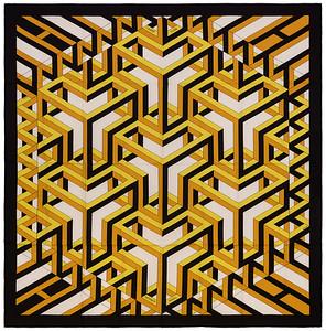 Carre Cube - CS140 - Noir Blanc Vieil Or - NWCTS - 1602231442