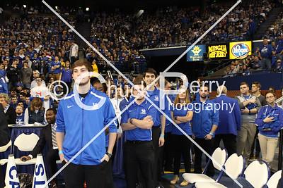 Band Seniors 3-5-2016 LSU Basketball