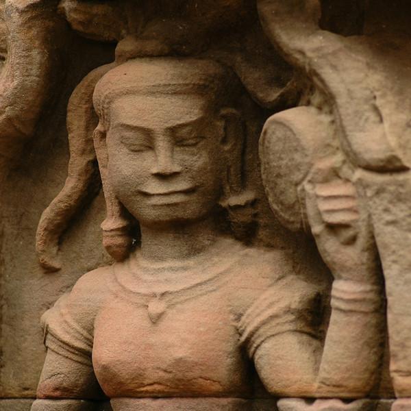Devatas (Female Deity) - Angkor, Cambodia