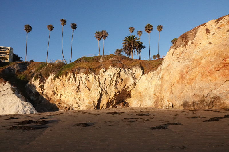 The cliffs and caves of Pismo Beach
