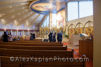 Baptism in Saint Nicholas Greek Church, Wyckoff New Jersey by Alex Kaplan Photo Video Photobooth