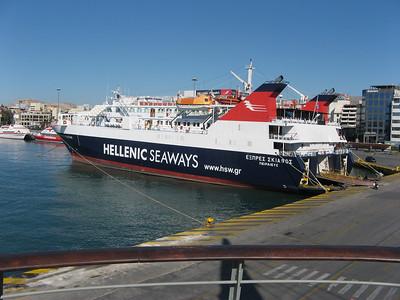 Island of Aegina and Athens 7+8 Oct 08