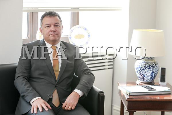 Турк Улсаас Монгол Улсад суугаа Элчин сайд Ахмет Язал