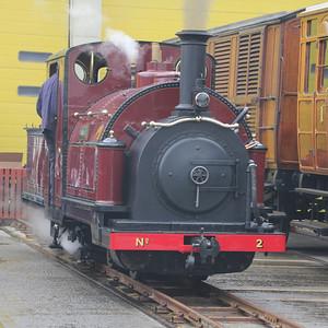 LT Museum  Acton Town Depot Open Day - 13 April 2013