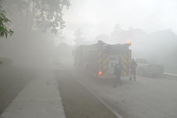 Dearborn - Hudson Street - Garage Fire