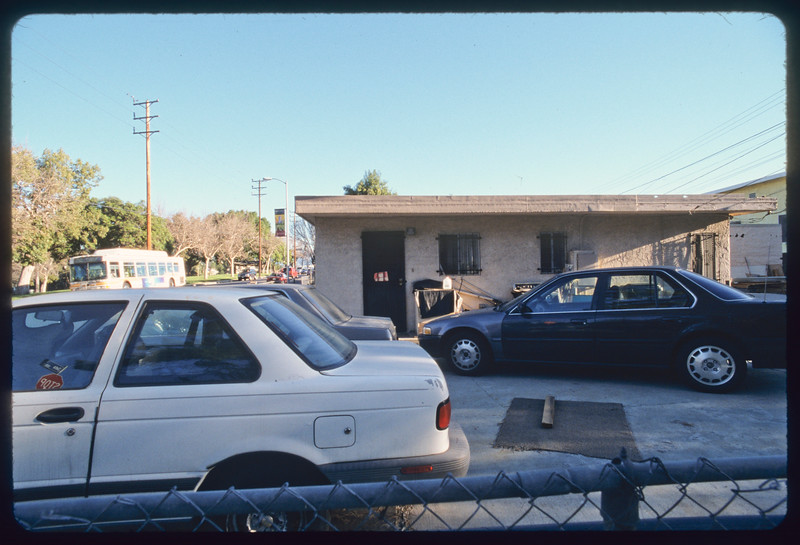 Houses at Soto Street and Zonal Avenue and Angelus Sheet Metal, Los Angeles, 2005