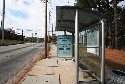 Bus Stop - Chattahooche St