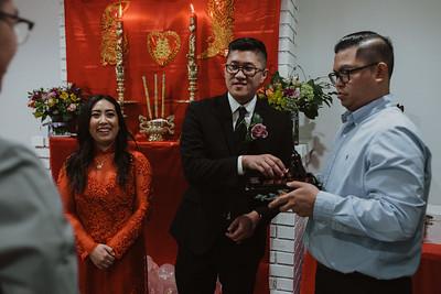 Jennifer+George Tea Ceremony