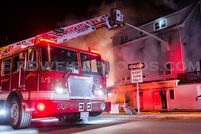 Peabody, MA 3rd Alarm - 168 Washington St - 12/25/16
