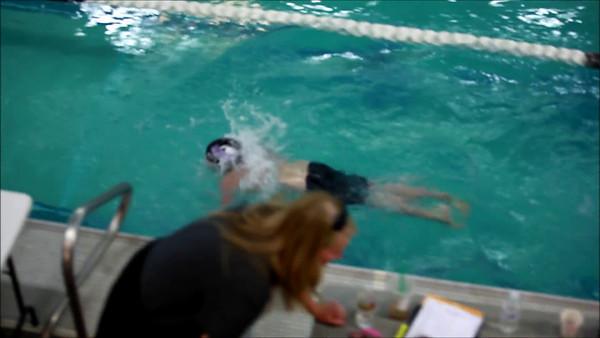 Nate Swim Meet Video