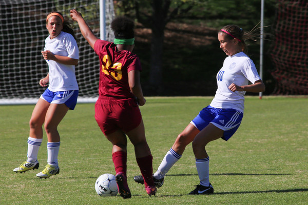 140425 Soccer Girls Varsity v Lutheran North
