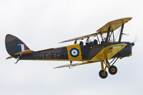 OY-ECH - DH82A Tiger Moth
