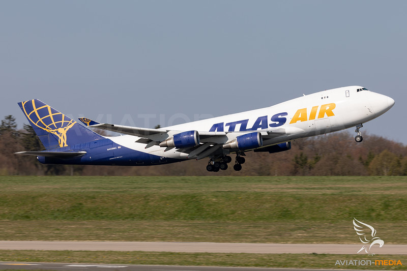 Atlas Air | Boeing 747-47UF(SCD) | N409MC