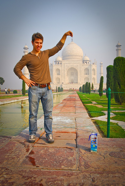 """I hired a very gung-ho """"photographer"""" for 150 rupees and he led me through all the postcard pictures"""