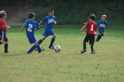 Jake's soccer game 09 / 18 / 11