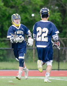 St. Mary's at Swampscott boys lacrosse