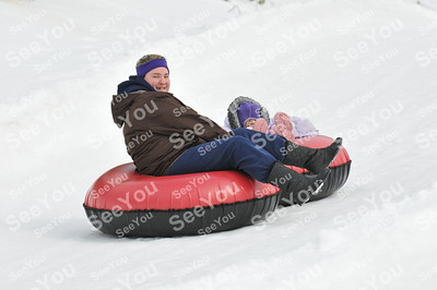 Snow Tubing 3-10-13 9-11am session