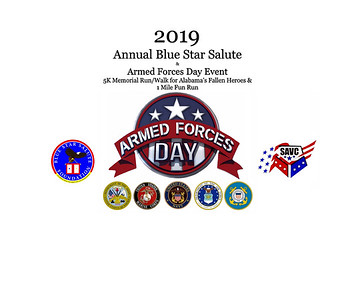 BLUE STAR SALUTE  AND ARMED FORCES DAY 2019
