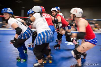 TXRD Rhinestone Cowgirls vs Holy Rollers 4/12/2014