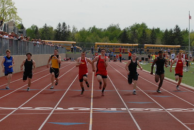 Boys Track Events