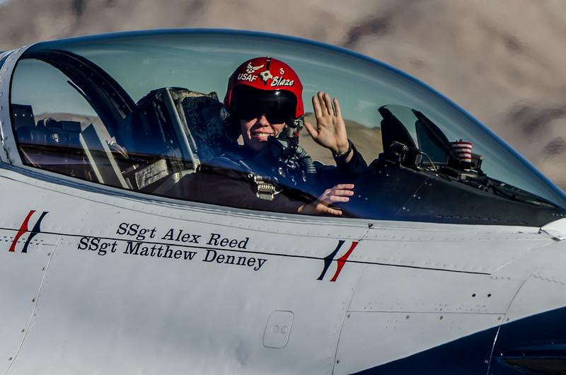 F-16 Thunderbird Pilot