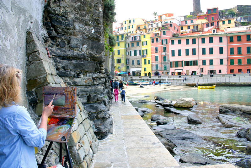 Vernazza being painted!.jpg