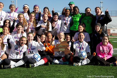 Odyssey Girl Soccer State Champions 2012