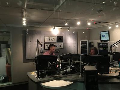 CBS Sports Network Tiki & Tierney 4/17/17 Pre-Set