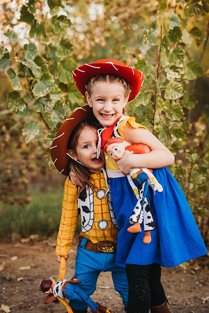 Madilyn and Abigail Halloween 2019