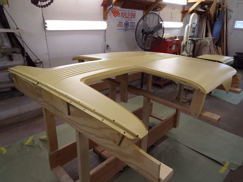 Port front view of the top in primer,.