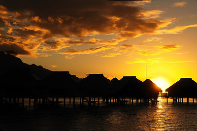 Tahiti Island and Moorea
