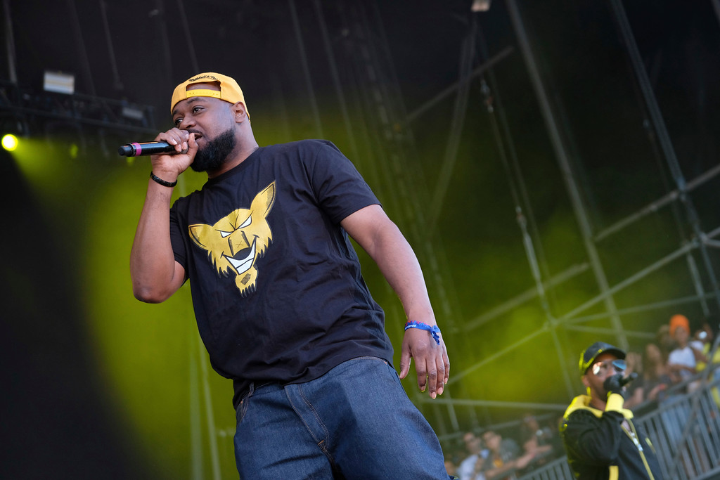 . Ghostface Killah from the hip hop group the Wu-Tang Clan performs on day two of the Governors Ball Music Festival on Saturday, June 3, 2017, in New York. Ghostface Killah will be at the Grog Shop on Oct. 22. For more information, visit www.grogshop.gs/event/1545843-ghostface-killah-cleveland. (Photo by Charles Sykes/Invision/AP)
