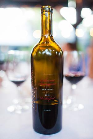 Wine Club Dinner Evangeline 2016