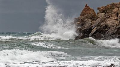29-02-20 - Grand vent sur la Côte Bleue