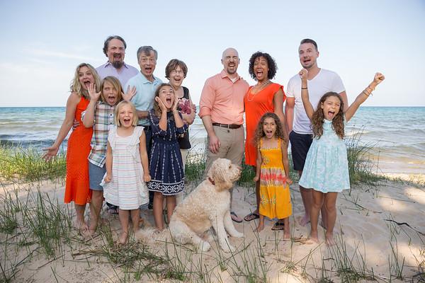 Harrisville, Michigan family photography beach Lake Huron