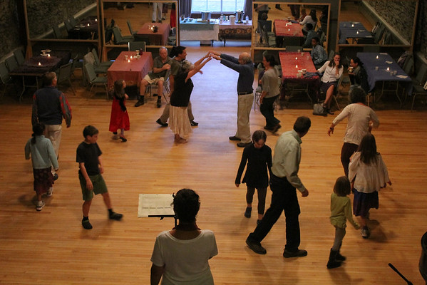 Little Theatre, Re-Opens, contra dance