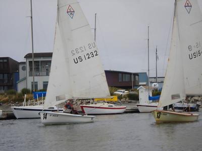 2011-06-12: C15 Sponsors Launch Boats